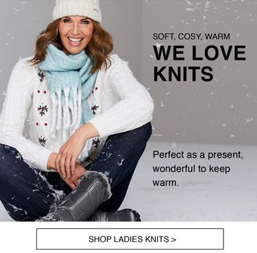 Shop Ladies Knitwear