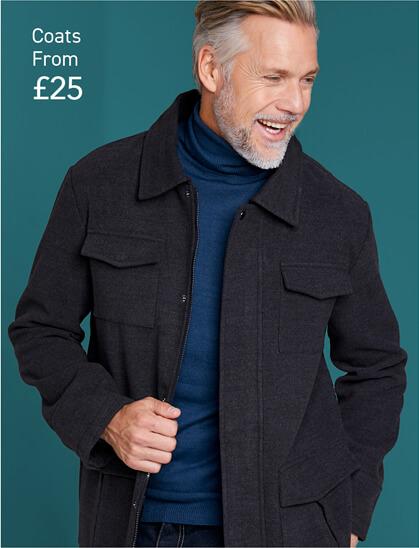 Shop Mens Coats