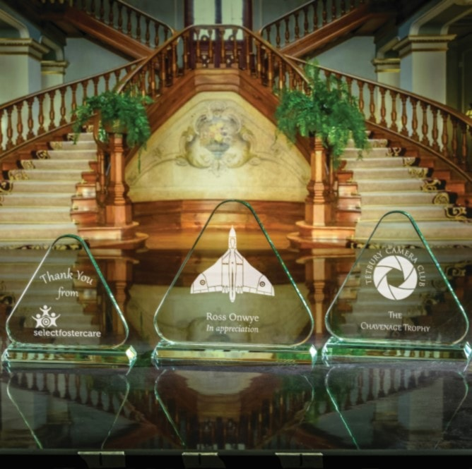Click here to view our pyramid plaques