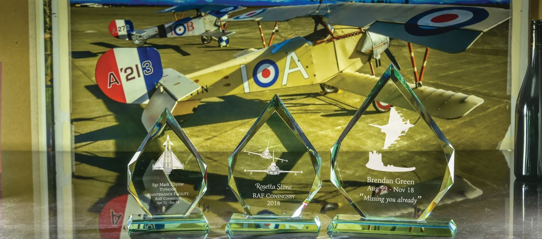 Click here to view our range of typhoon plaques