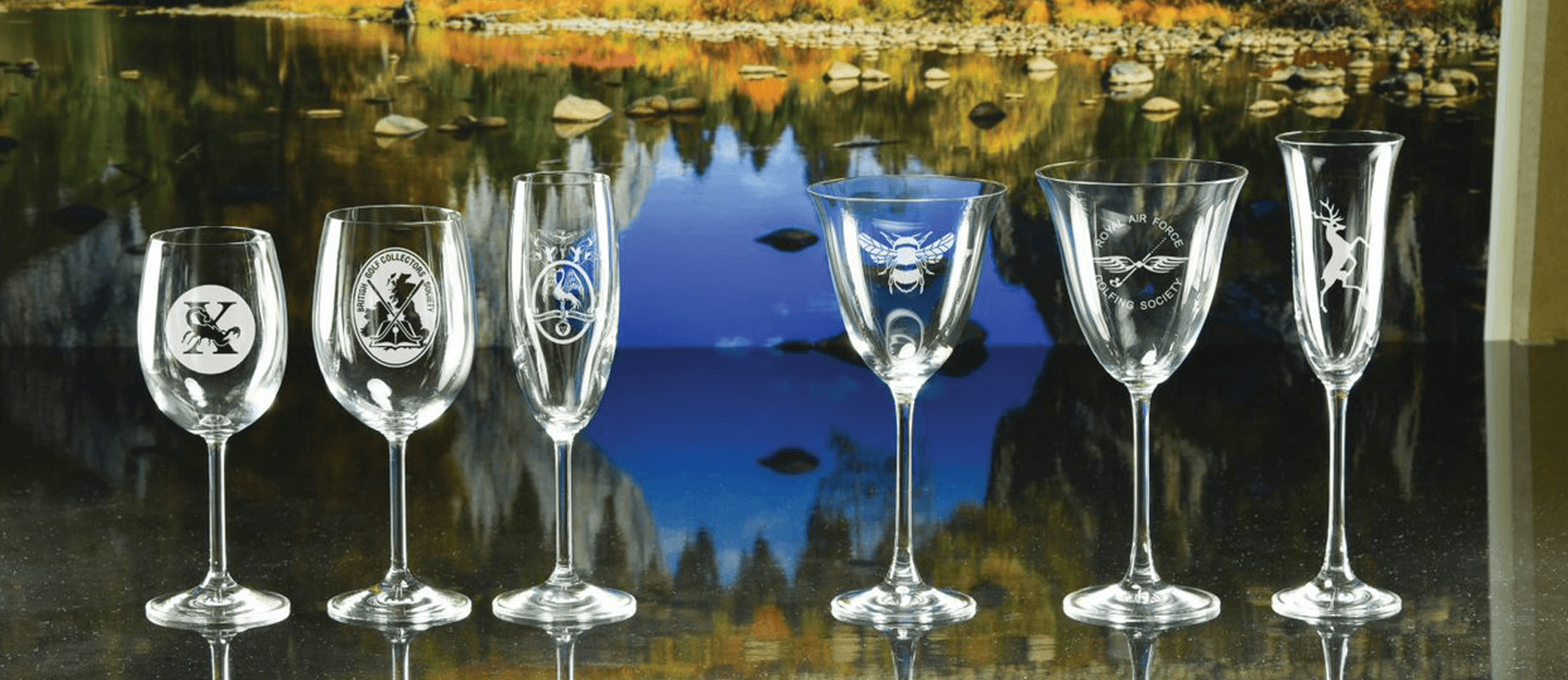 Click here to view our range of goblets and flutes