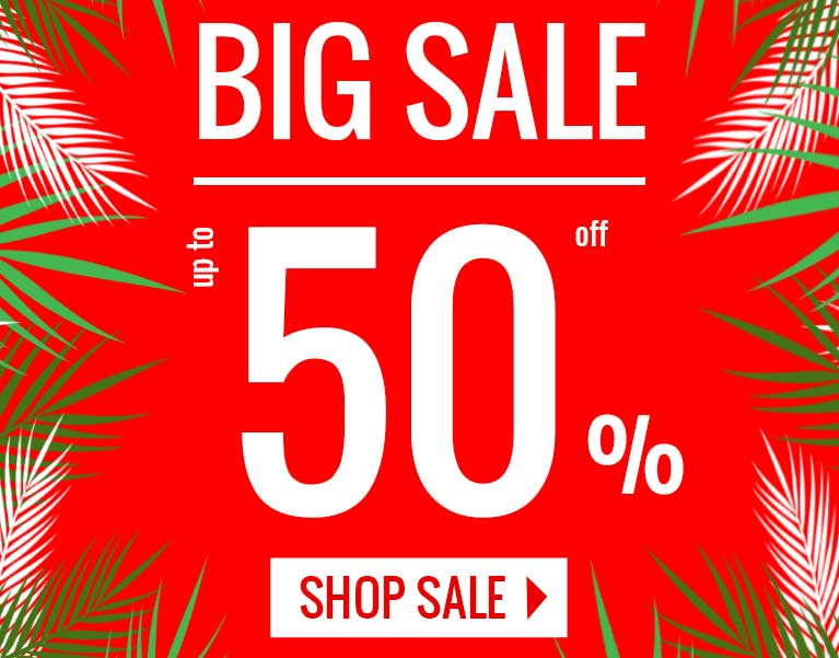 Big Sale - up to 50% Off