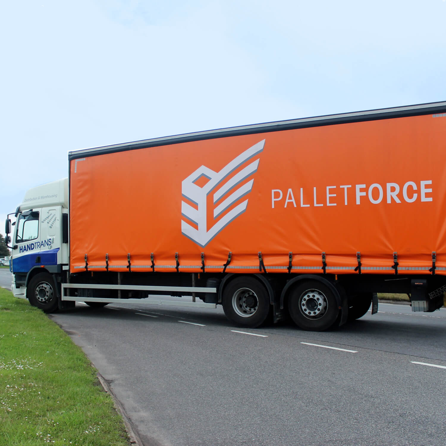 Pallet Delivery Lorry