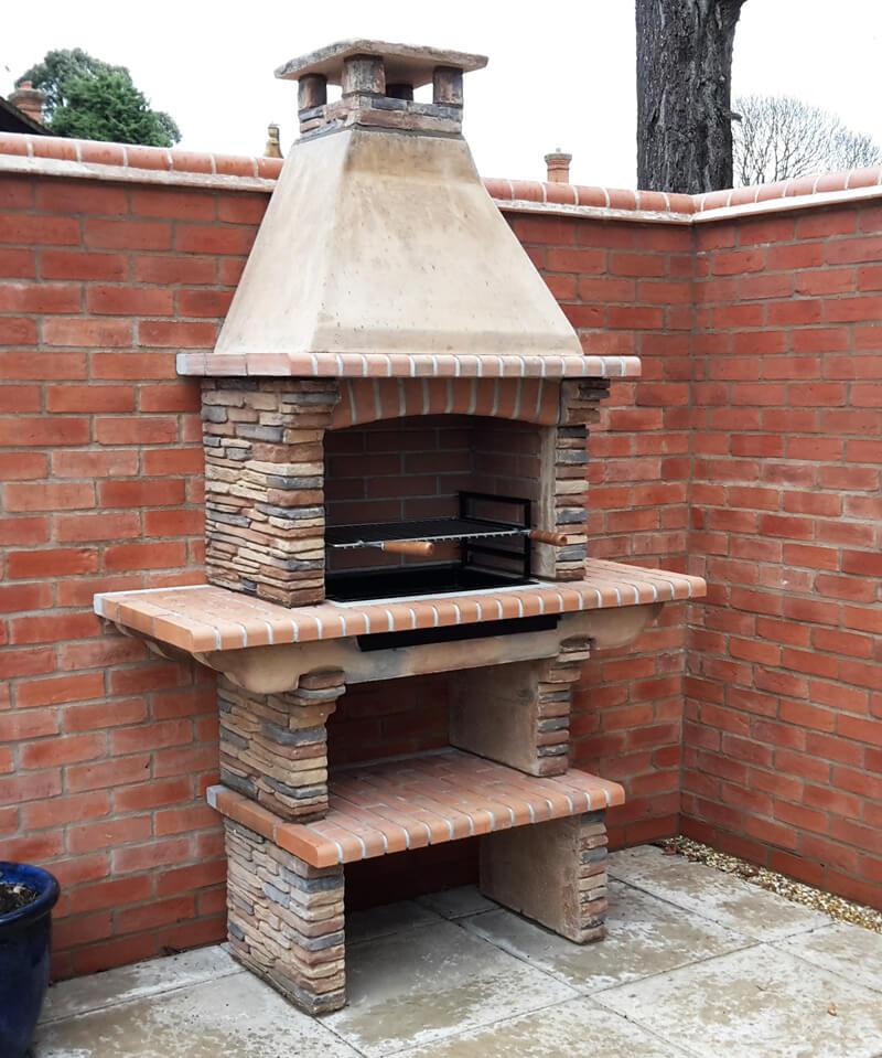 Built Masonry BBQ