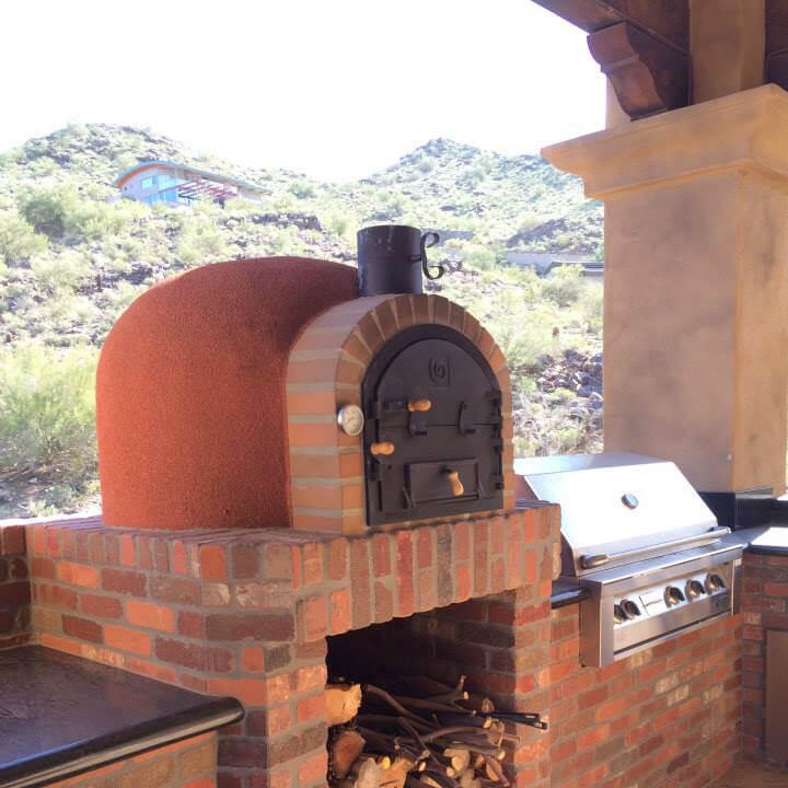 Outdoor Clay Oven