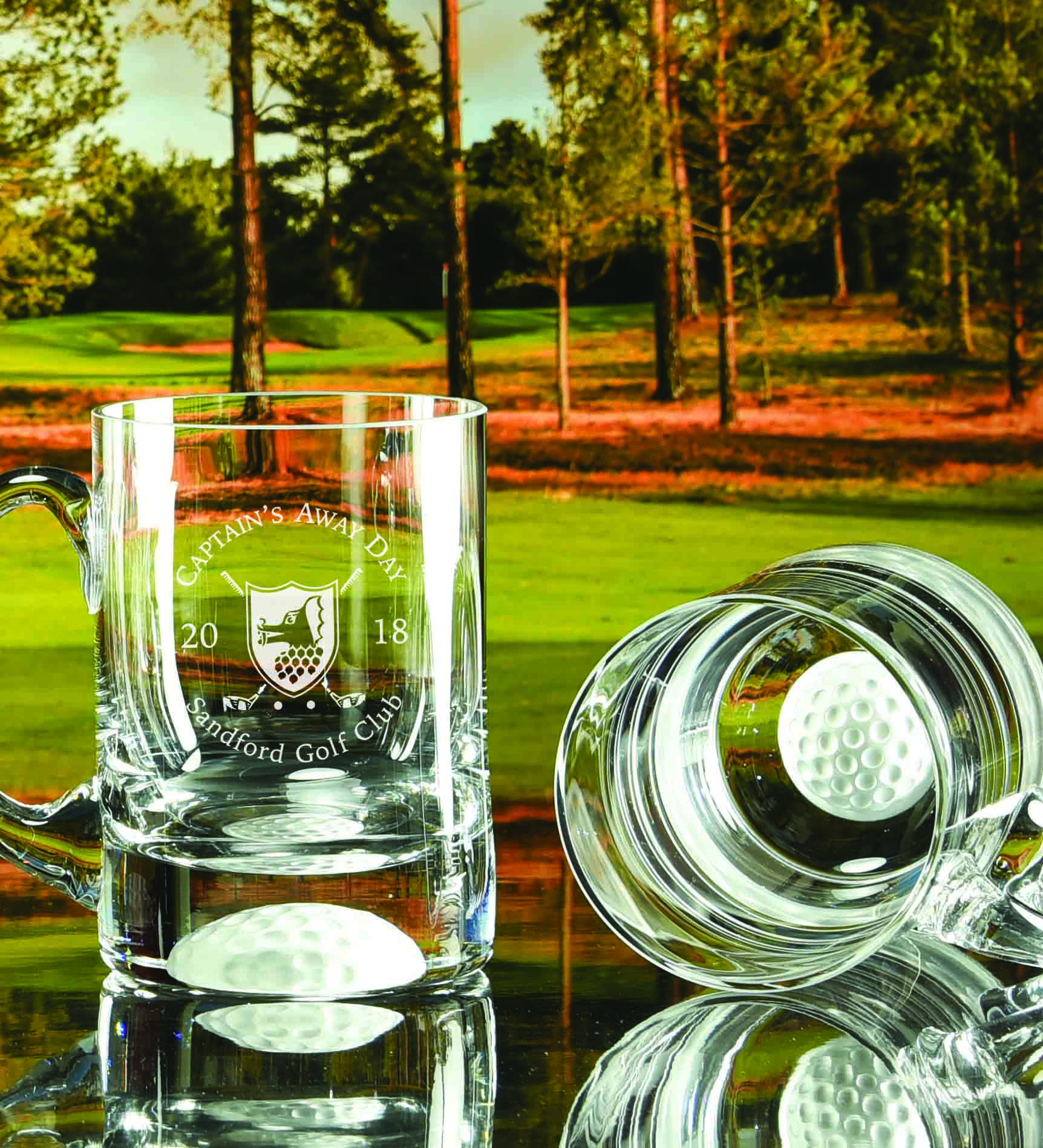 Click here to view our range of Golf Ball Tankards