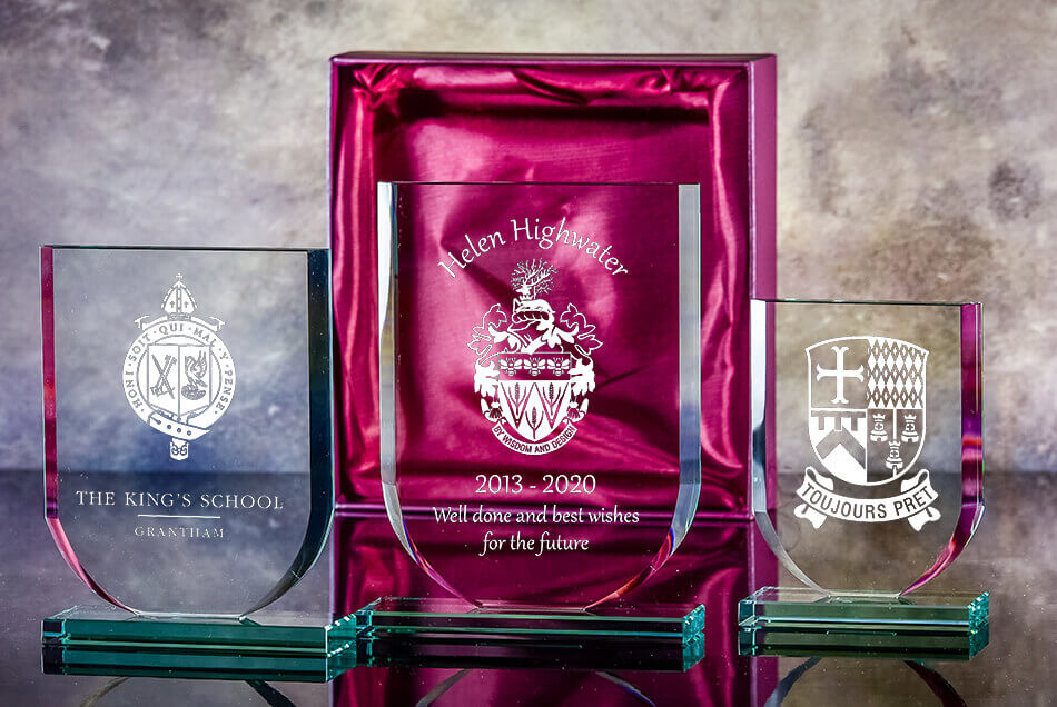 Click here to view our plaques and paperweights