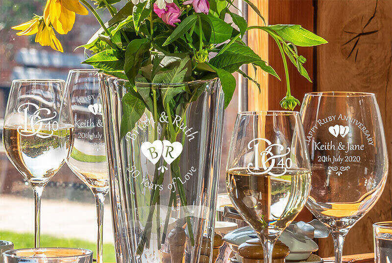 Click here to view our Gin and Wine Glasses!
