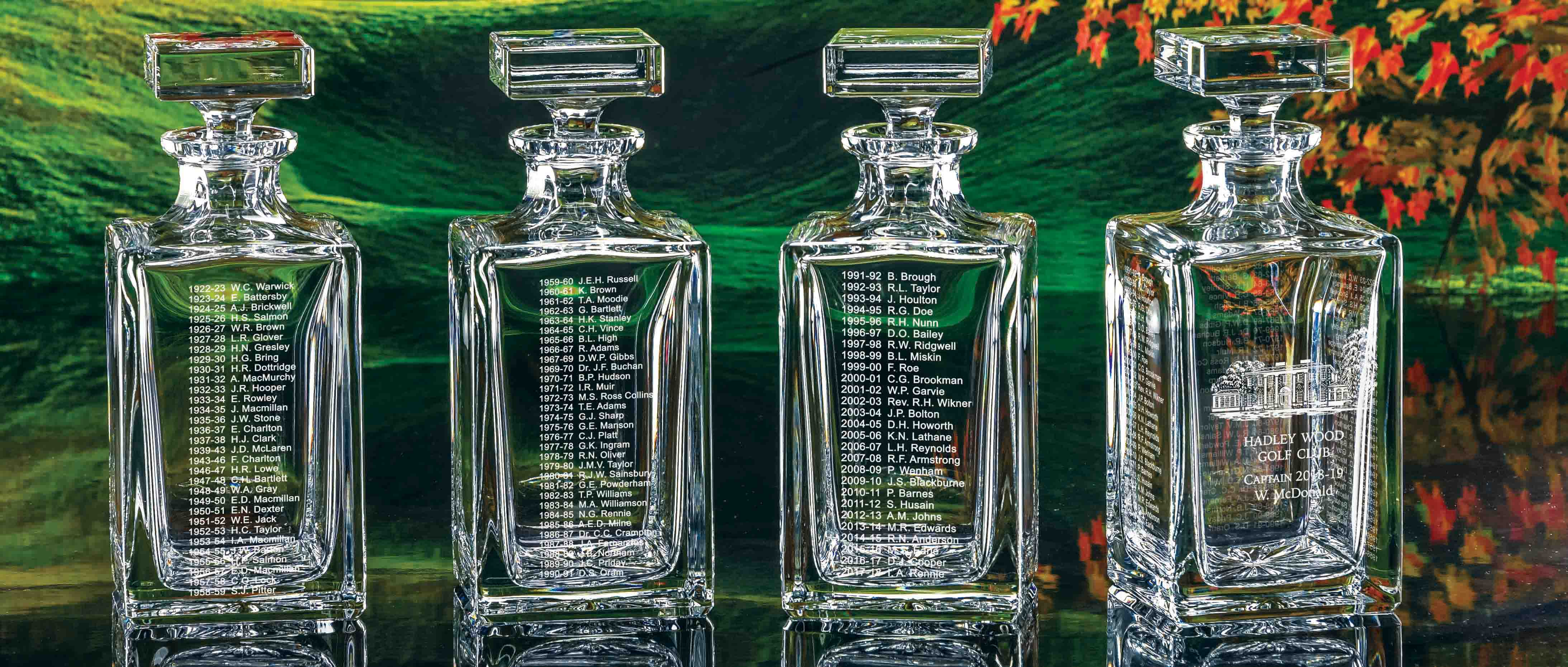 Click here to view our Captain's Captains decanter!