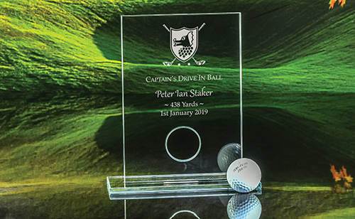 Click here to view our Captain's Drive-in-Ball plaque
