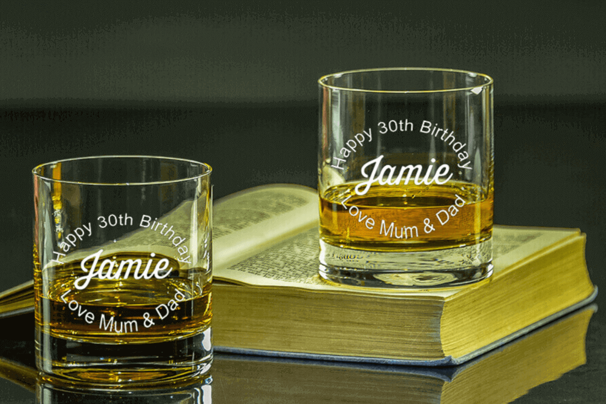 Our collection of personalised Tumblers!