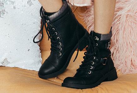 Rebel Spirit: Moto inspired ankle boots